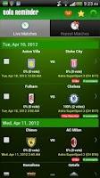 Screenshot of Bola Reminder - Malaysia