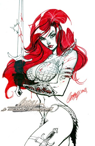 Red_Sonja_Con_Sketch_by_J_Scott_Campbell