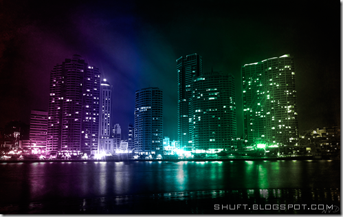 City Lights wallpaper