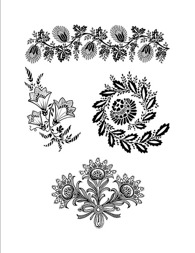 Free tattoo designs - hibiscus