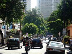 Rua Maria Antonia em 2009. Foto de Gladstone Barreto. Clique para ampliar