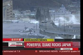 超强地震袭击日本