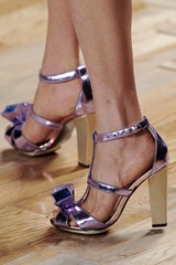 Cynthia Rowley AW 11 Lavender sandal ShoesNBooze
