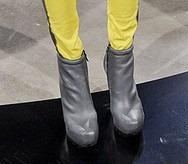 Kimberly Ovitz AW 11 Gray bootie ShoesNBooze
