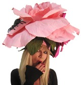 Betsey Johnson Chambord Flower Hat ShoesNbooze