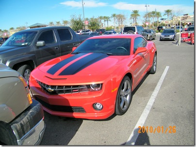 Don was drooling over this Camero