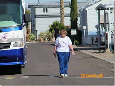 Judy is ready to roll on down the highway to Tucson
