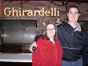Jenn and Trav at Ghirardelli