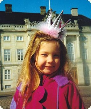 Emilie ved Amalienborg