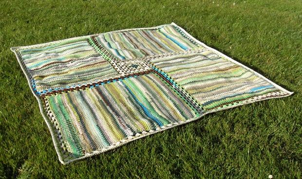 genopstået tæppe