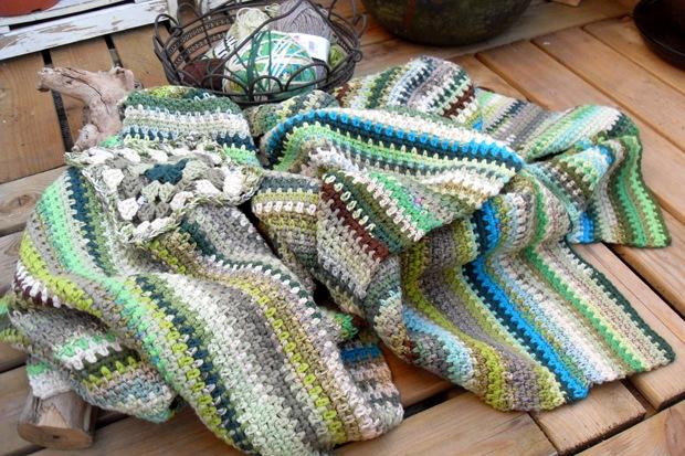 dele til et tæppe