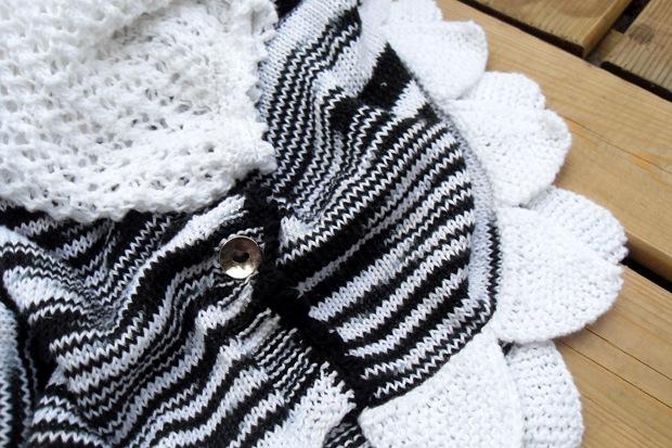 Zebra med takkede kanter