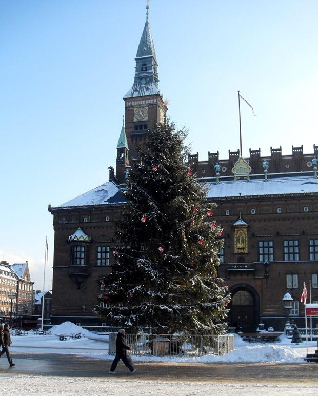Rådhuspladsen, december 2010