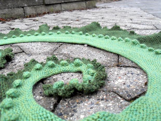 Nessie med kruset kant