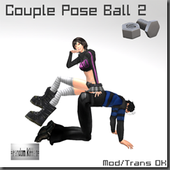 Cuple Pose Ball 2