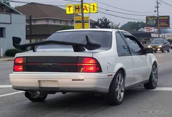 改装汽车就要有尾翼 ,尾翼,汽车