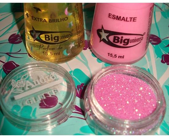 Esmalte com Glitter - Ingredientes