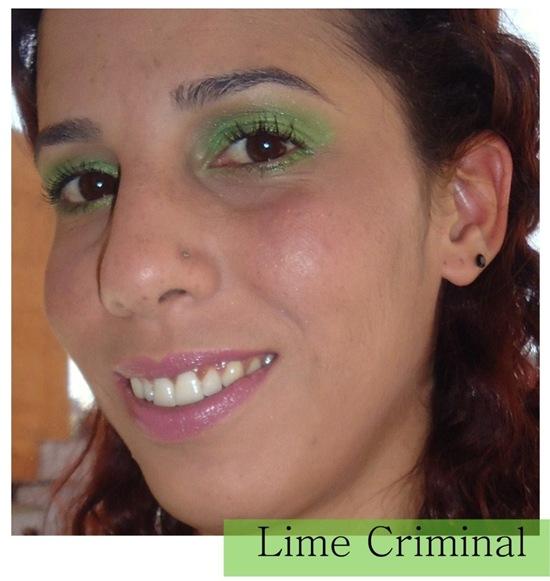 Lime Criminal - Zoom face