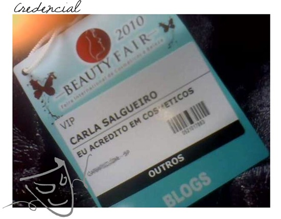Beauty Fair Credencial