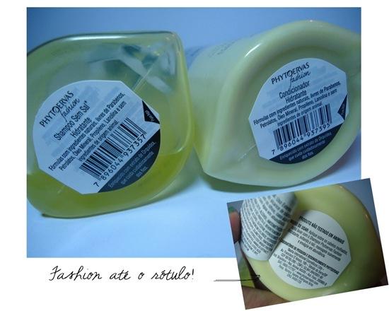 Phytoervas Fashion Hidratante - Embalagem