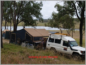 Camping at Lake Wuruma