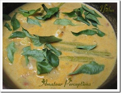Prawns in Coconut Gravy 8