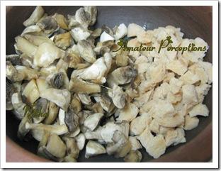 Mushroom - Soya chunks 2