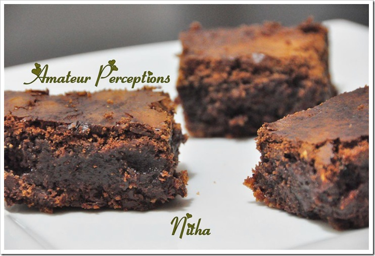 Triple Chocolate Brownie 10