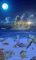 Screenshot of Ocean Aquarium 3D: Turtle Isle