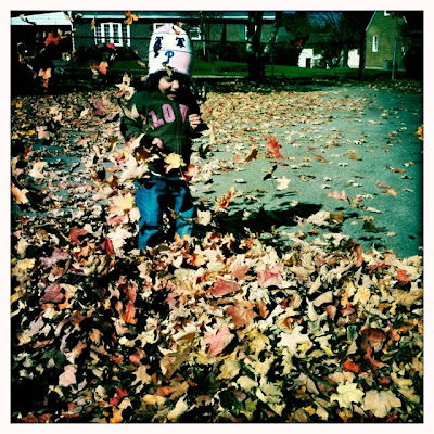 Lola in Leaves, printed by Hipstamatic. By Tara Gentile.