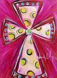 1349 - pink cross