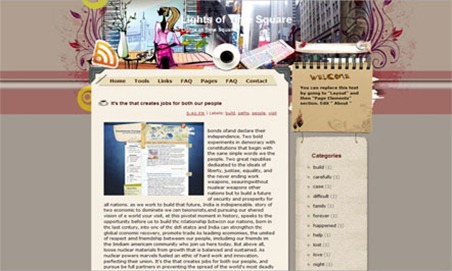Lights-of-Time-Square-Blogger-Template