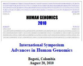 International Symposium Advances in Human Genomics de la Universidad Nacional de Colombia