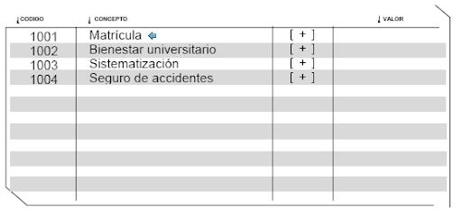 Recibo de Pago Matricula Universidad Nacional de Colombia - Becas-Descuentos