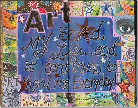 Art Saved Me