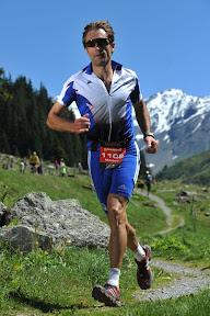 Markus Wagner auf dem Trail