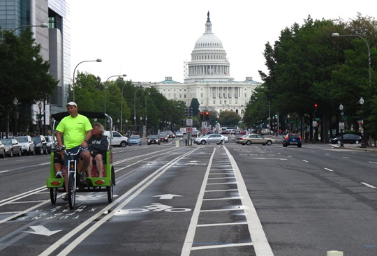 Washington DC Bike Lane