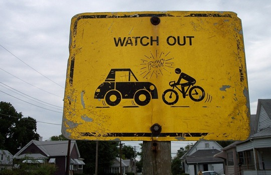 Watch Out Bicycles