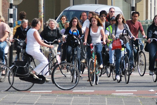 Groningen Traffic Light for bicycles