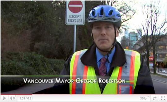 Mayor of Vancouver - Gregor Robertson