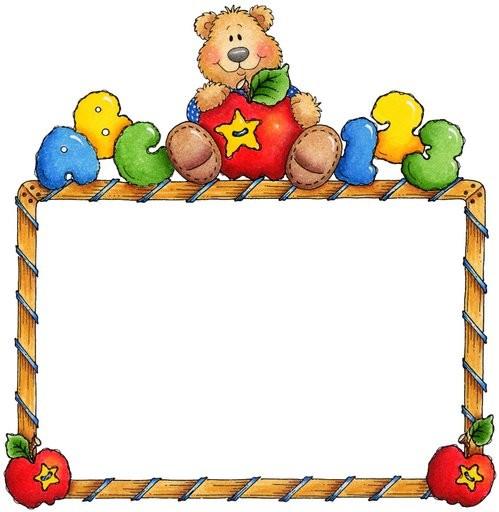Bordes decorativos para bebés - Imagui