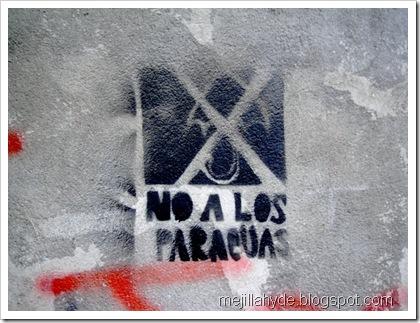 No a los paraguas
