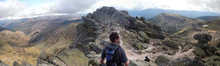 Vista desde el Pico Urbión, 2229 m