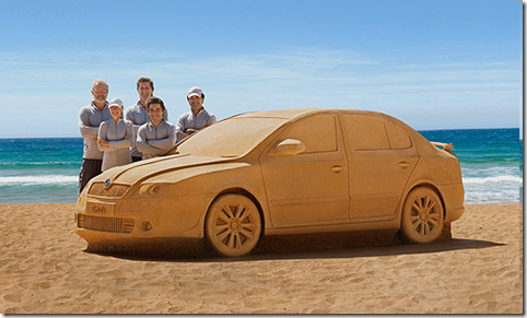 Sand Powered Car, nice