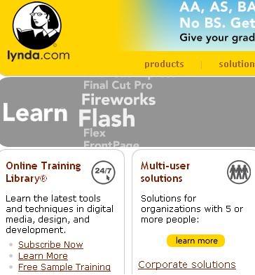 Lynda.com - Tutoriais