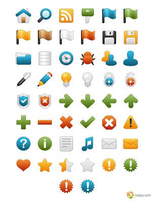 Onebit free icon set
