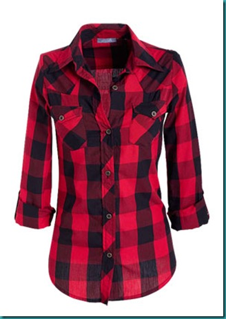 I refuse to be vintagicated grasping for objectivity Womens red tartan plaid shirt