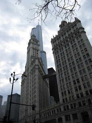 chicago skyscrapers, including trump tower