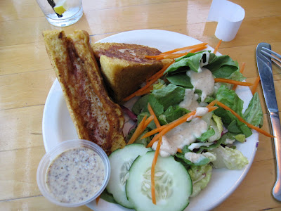 monte cristo sandwich, high rock cafe, wisconsin dells