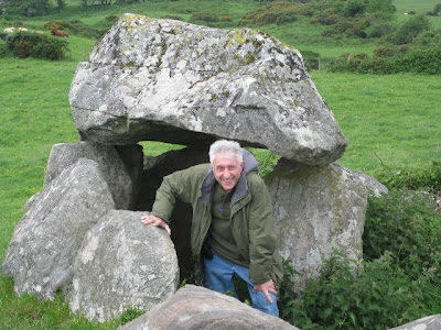 Howard G Franklin, an Irish Experience - Carrowmore Tombs, outside Sligo